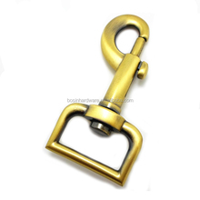 Fashion High Quality Metal Brushed Bronze Snap Hook