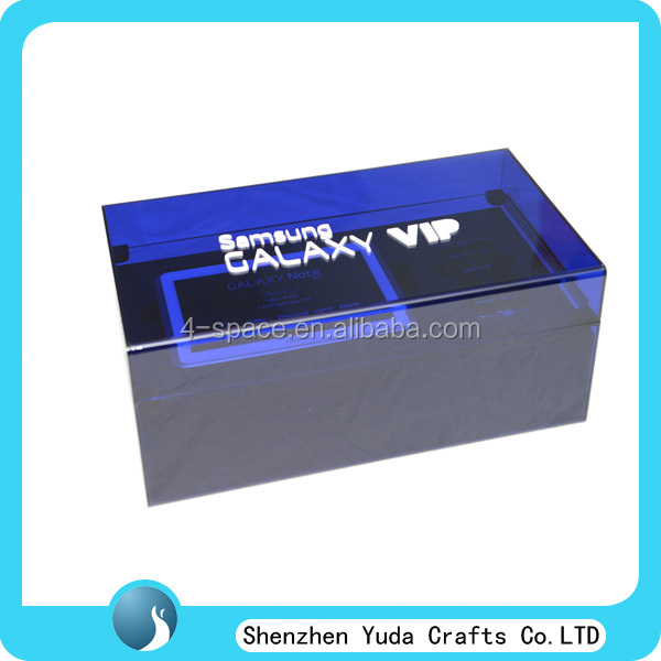 Acrylic table pc storage box, custom case for the phone, new pc case
