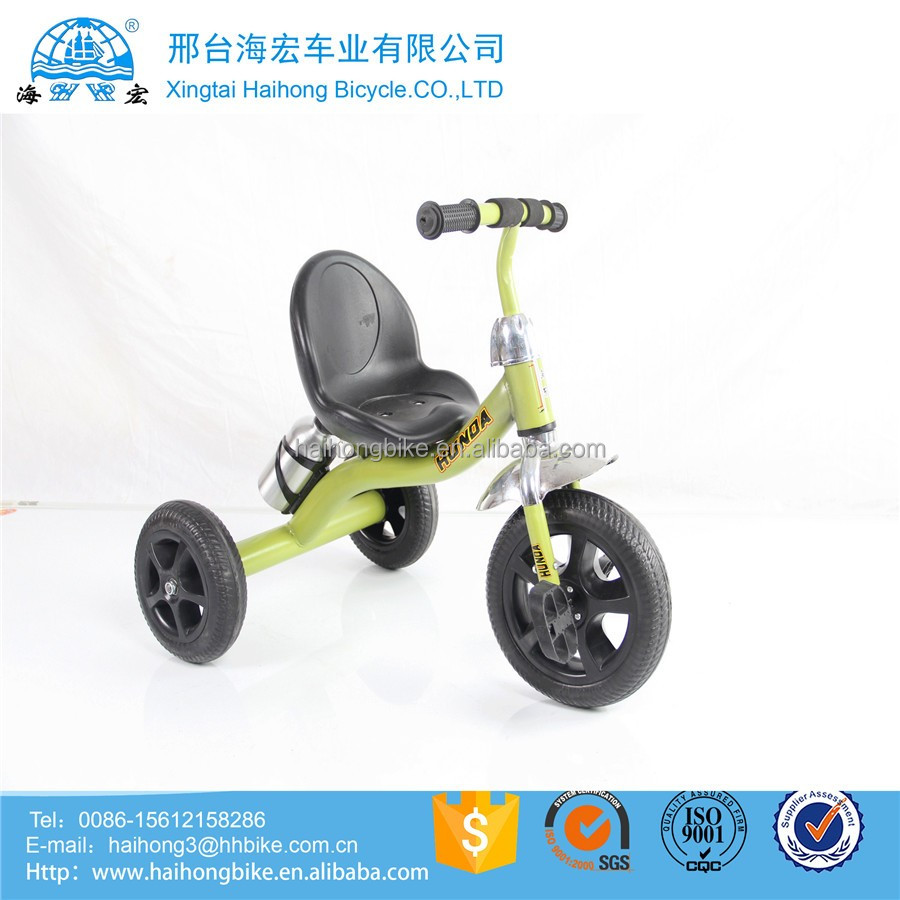 Mother baby metal tricycle stroller / Baby triciclos child tricycle with Trailer sunshade / child tricycle