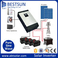 BESTSUN Newest Transformerless PV Grid-Tied Inverters 3000W with WIFI Single Phase 230V 4' LCD Screen, Die-Casting Case