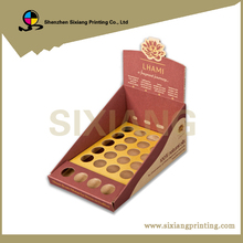 Point Of Sale Cardboard Counter Product Display Unit