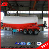 Large capacity hot sale 45cbm bulk cement tank truck trailer in India