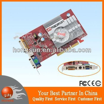 ATI Radeon 9550 256mb agp 8x video card