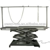 UW-GR-043 2012 newest design double-layer boards electric lifting pet grooming table for large dogs