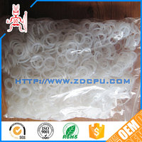Injection molding wear resistant durable white rubber o rings