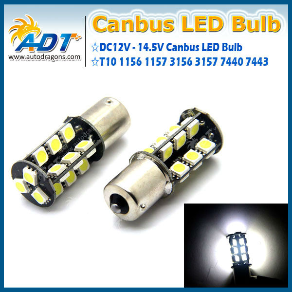 Best quality canbus 1156 27 SMD5050 1156 canbus led