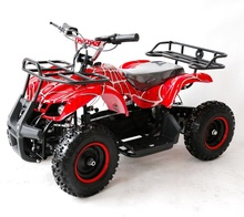 cheapest mini electric ATV 500W 800W chinese 4 wheel quad bike prices for kids with CE