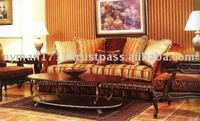 Best Quality Wooden Antique Classic Sofa
