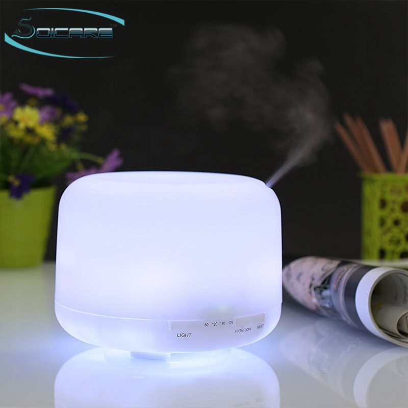 SOICARE 500ml Ultrasonic Cool Mist industrial aroma diffuser