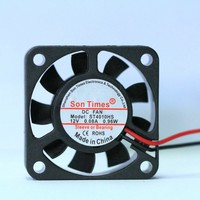 40*40*10mm axial energy saving dc cooling solar 12v fan price