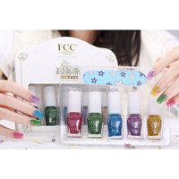 5 Bottles * 5ml Nail Polish Set Mini Collection , Green & Natural Formula , Nail Polish Manufacturers Factory Direct