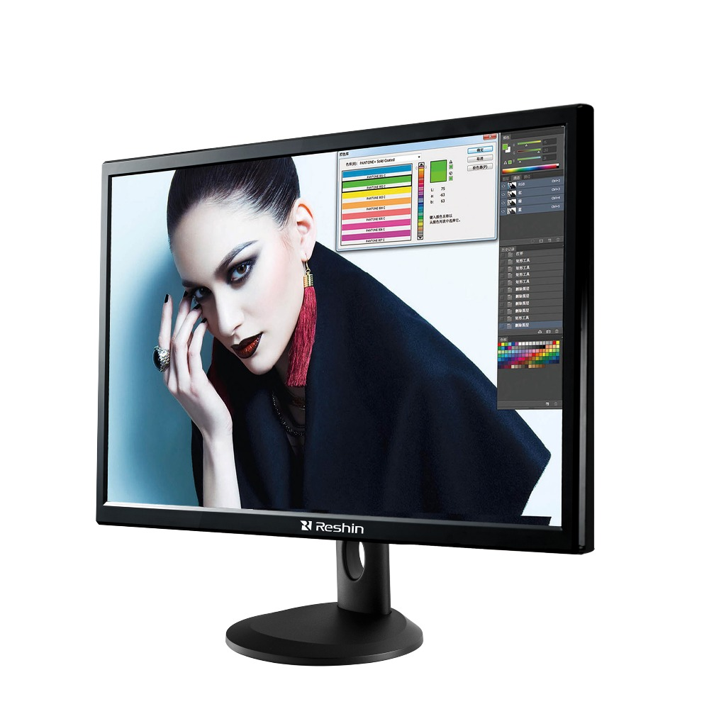 28'' High Performance LED LCD Screen Monitor 4K resolution 3840*2160 support four diffirent screen in one display