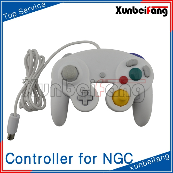 Wired Game Controller Joystick Gamepad for NGC for Wii for GameCube (One Button)