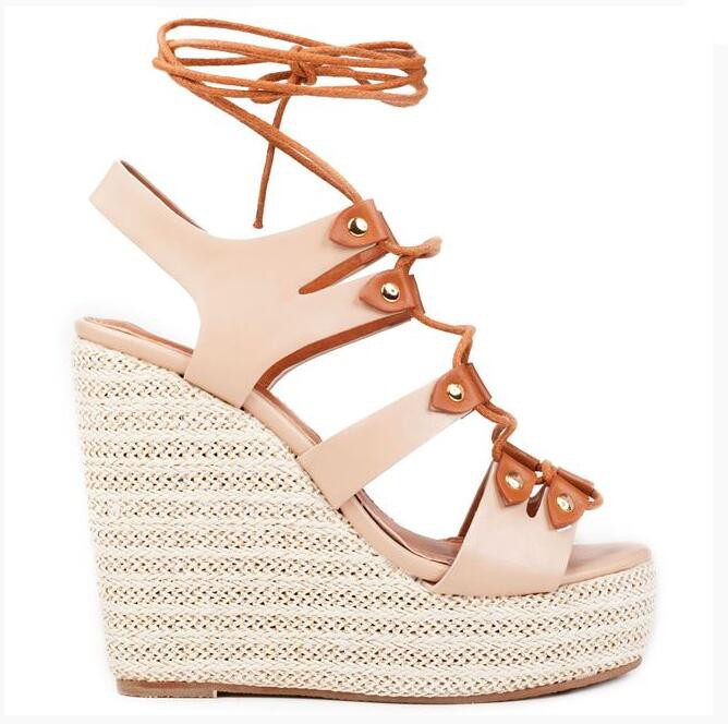 Low price Comfort casual women wedge platform ladies <strong>sandals</strong>