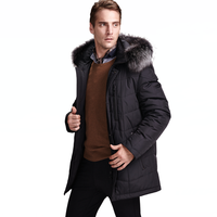 Winter Men Casual Jacket Cotton Coat 2015