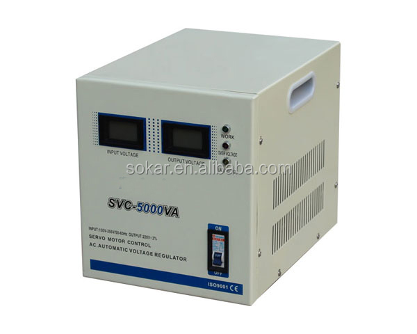 svc 5000va ac automatic voltage regulator/stabilizer,high voltage regulator circuit