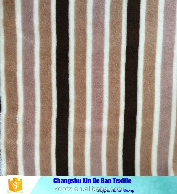 wholesale flannel stripe prints woven fabric
