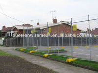 removable fence/chain link mesh/temporary fencing