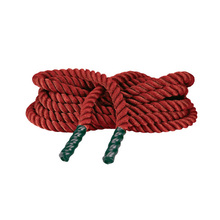 "1.5""/2"" colorful training battle rope for gym or indoor training -durable and non-abrasive"