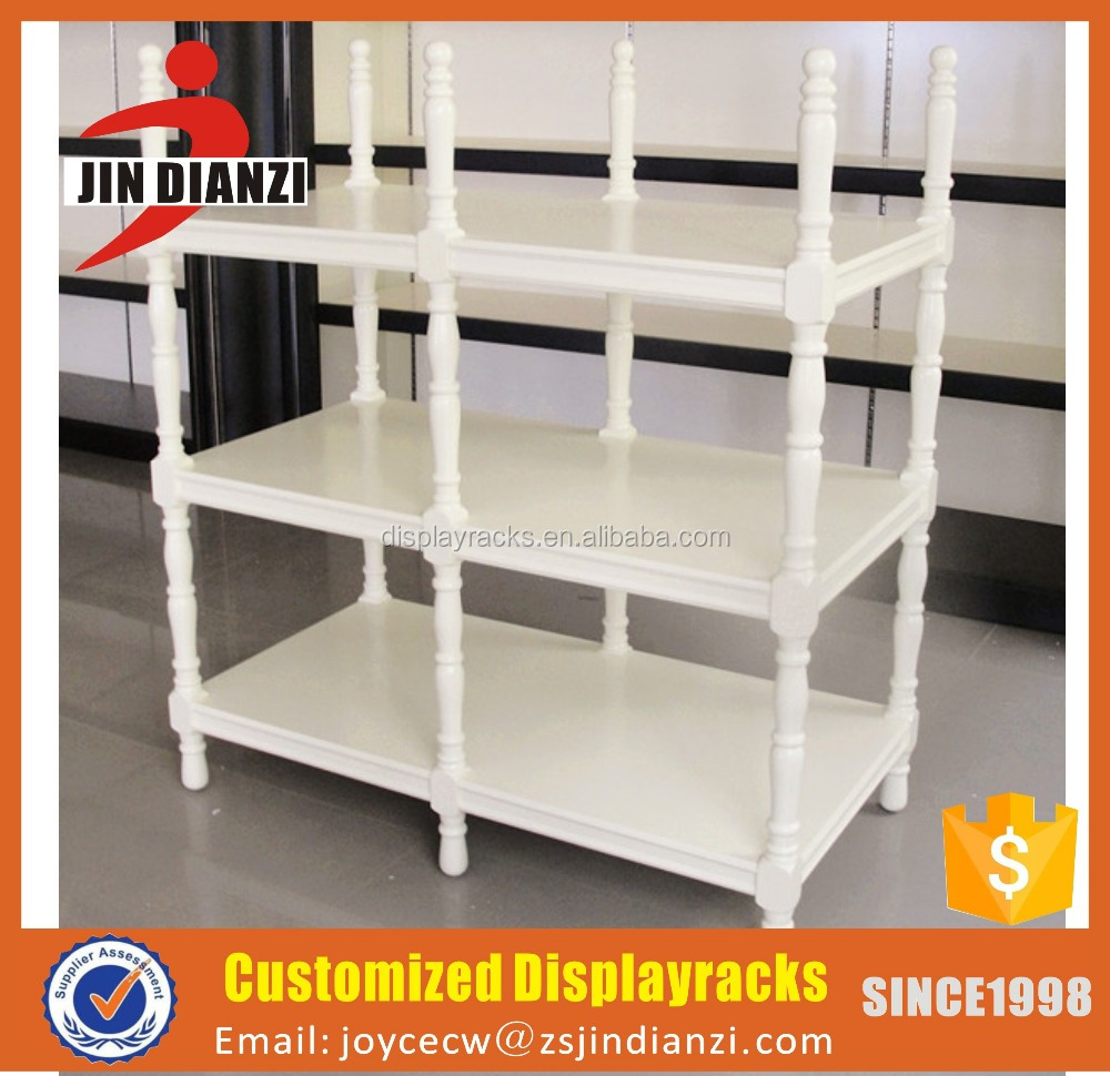 Mordern wooden spray paint display racks for Europe market
