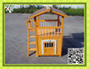 Wooden pet house for dog with belcony XD 0122