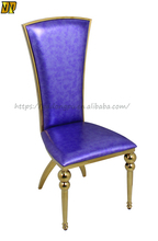 New Products 2016 Purple Kings Chair Throne Chairs for Restaurant Dining Chiar--Y28