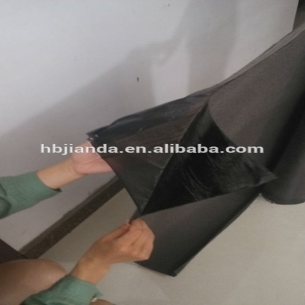 self-adhesive bitumen membrane used as waterproof material