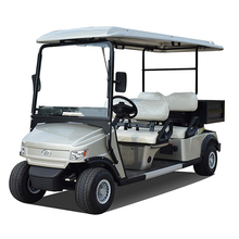 4 passengers yellow electric golf cart/golf buggy price