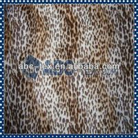 100 Polyester Hot Sell Printed Fabric With Animal Print