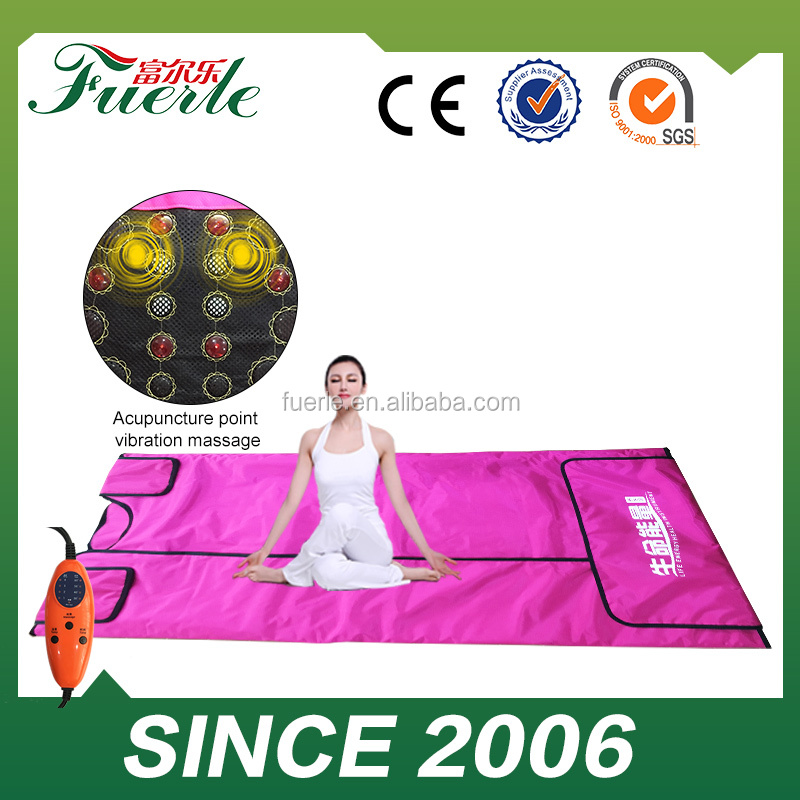 Far hot slimming machine slimming heating infrared sauna blanket for weight loss