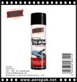 Low Temperature engine starting liquid engine starter