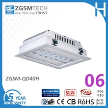 40W LED Gas Station Light with High Quality LED Petrol Station Gas Station LED Canopy Light