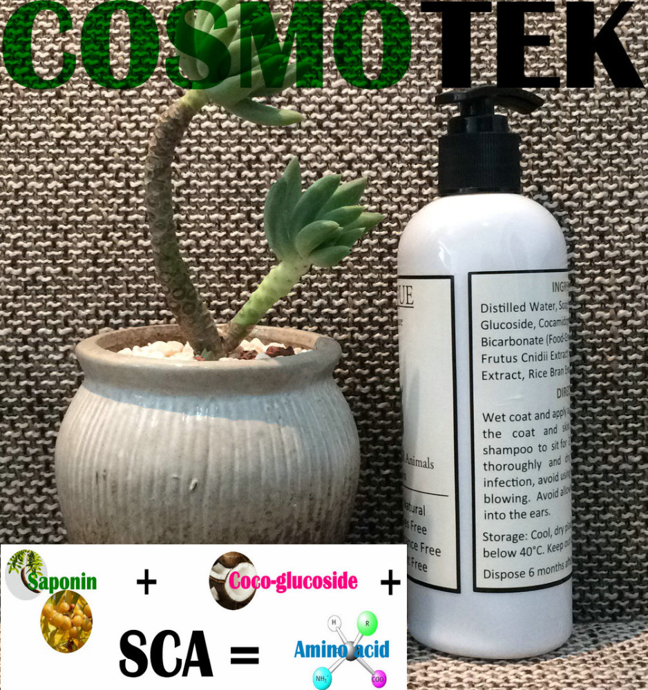 Hot sale Organic Pet shampoo with your private label