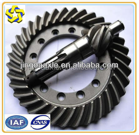 XCMG XGMA LIUGONG spiral bevel gear for wheel loader ZL50G ZL30C roller and grader xcmg gears