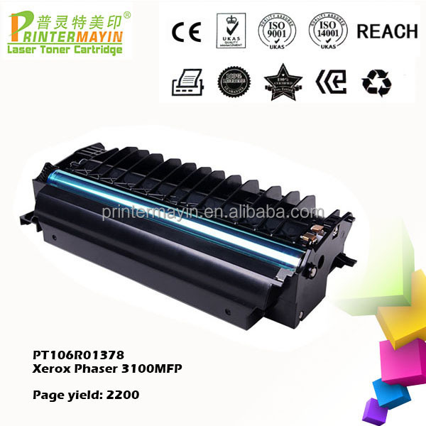 Toner x3100 for Xerox for use in Xerox Phaser 3100MFP (PT106R01378)