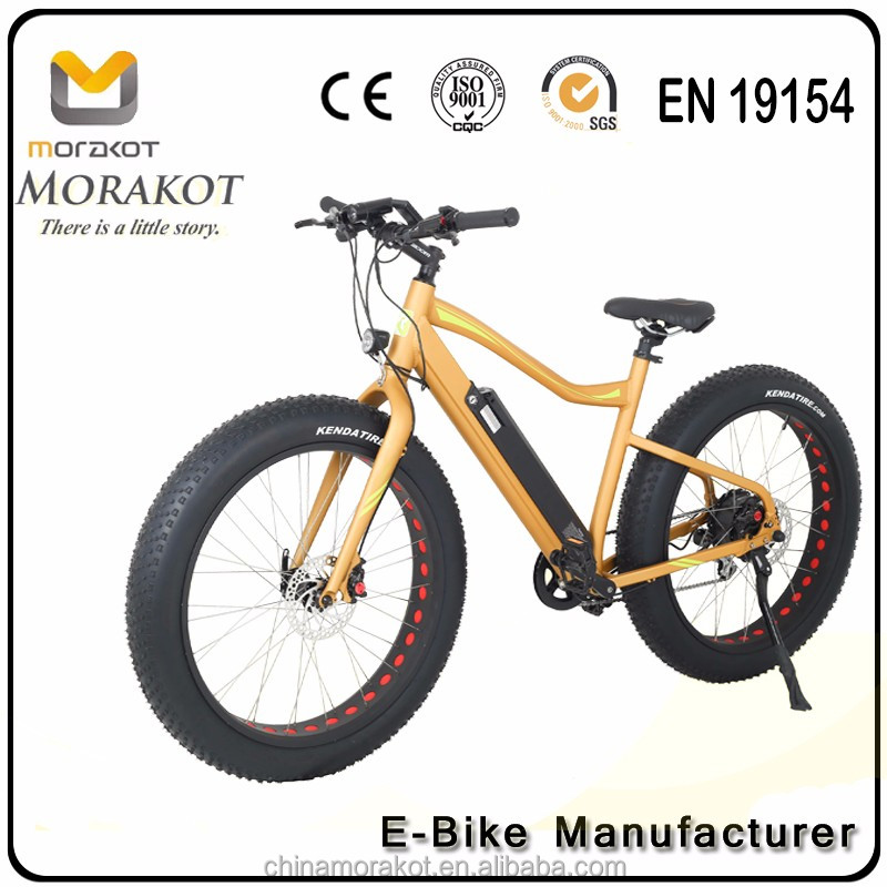 Hub Motor 350w 36v Bafang Mountain Electric Bicycle Fat Bike Tire Beach E bike