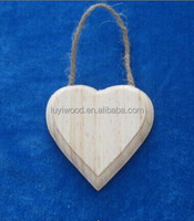 heart-shaped decorative wall hanging art and craft