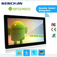 18.5 Inch tablet pos , android 4.4 tablet , wall mount oem lcd touch screen
