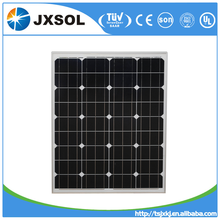 High quality A-grade cell high efficiency pv module, mono 80W solar panel price made in China