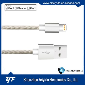 Authorized MFi Manufacturer USB Cable for iPhone cable