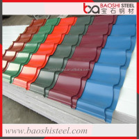 Baoshi Steel heat reflective versatile metal sheet for roofing tiles