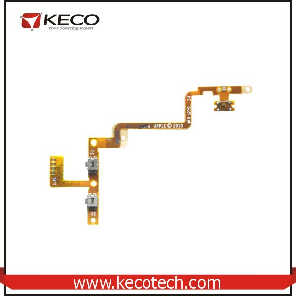 New Power Button Switch on off Flex Cable for Apple iPod 4 4th Gen Spare Parts