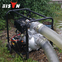 BISON(CHINA) 6 inch Farm Irrigation Movable Diesel Water Pump