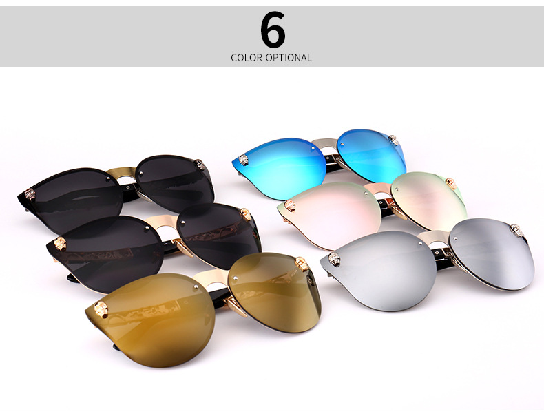 Fashion Luxury Sunglasses Unisex Brand Designer Skull Sun Glasses
