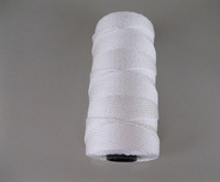 210D/15 Ply White Twisted Nylon Fishing Twine