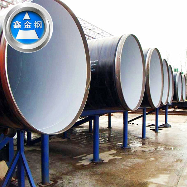 AWWA C200 Spiral welded pipe :34'' SSAW pipe for underground pipeline