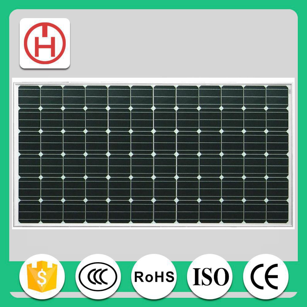 commercial monocrystalline solar panel 250w price with CE ROHS