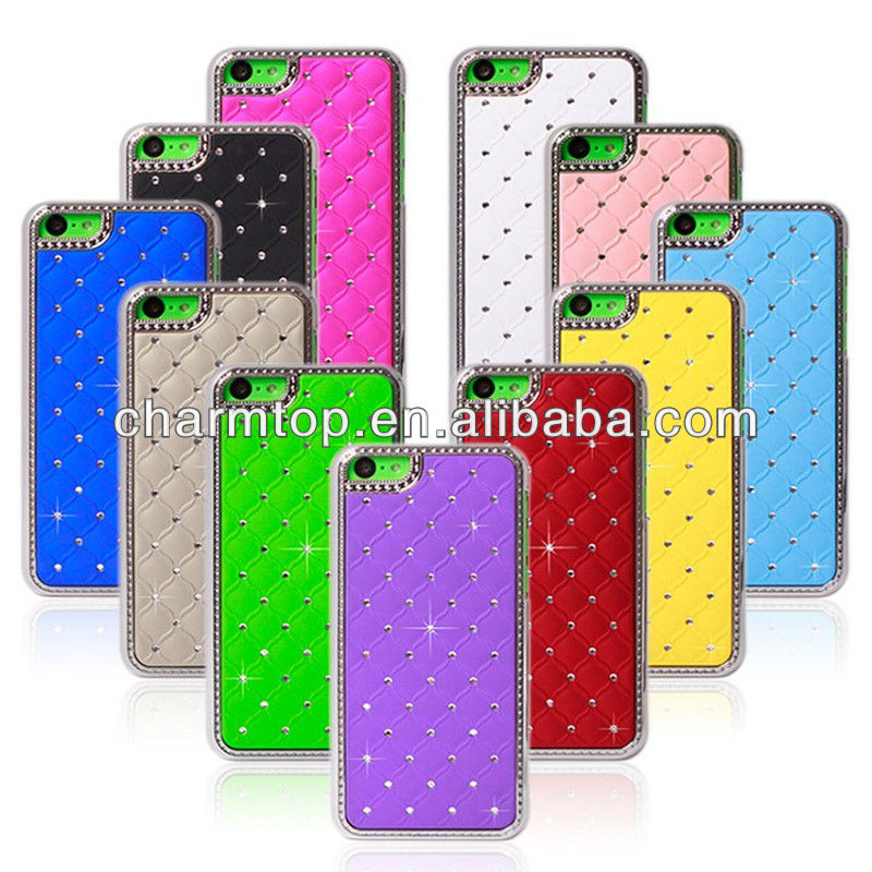 Hot Selling Bling Hard Case For Apple iPhone 5C