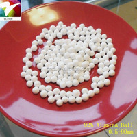 Market price of aluminium oxide ball/bead/powder, 0.5-95mm diameter, size can be customized