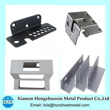 Customized Black Painted Steel Parts Sheet Metal